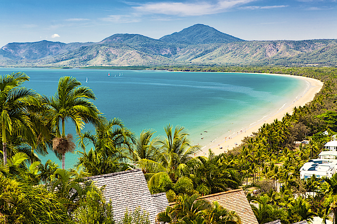 The beaches of Port Douglas are a gateway to the Great Barrier Reef
